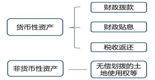 政府补助形式及分类