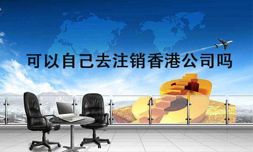 可以自己去注销香港公司吗?
